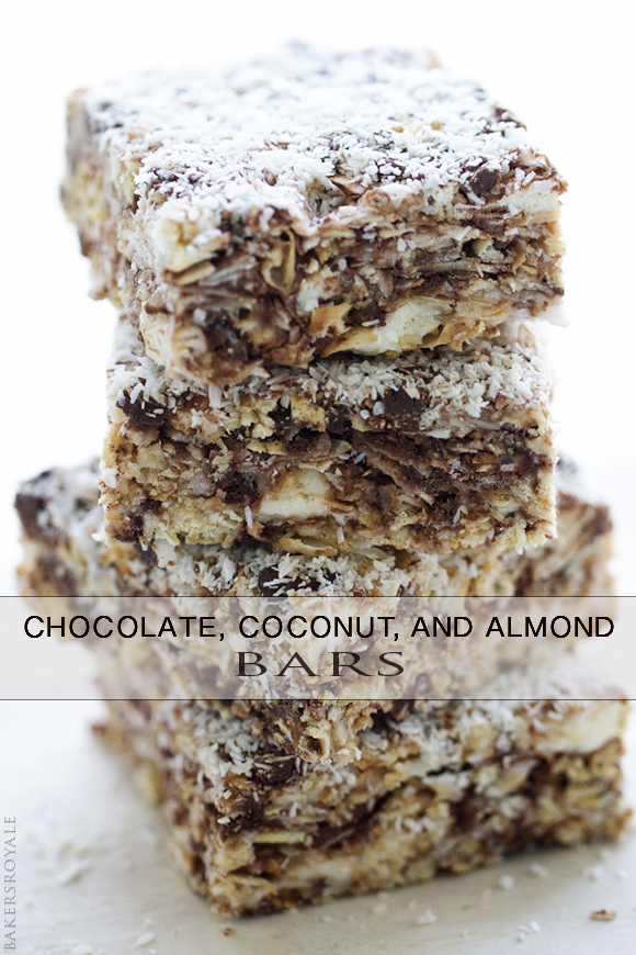 Coconut, Chocolate, and Almond Bar