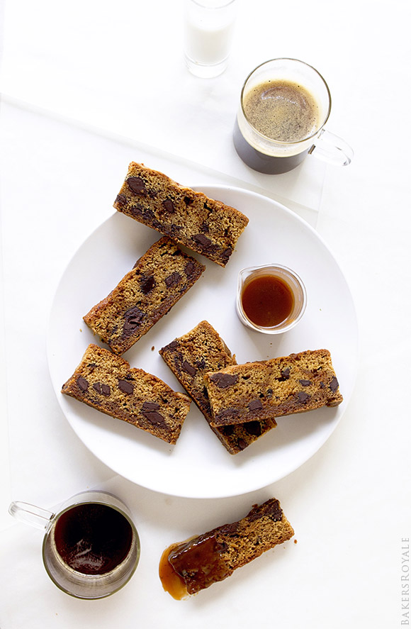 Chocolate Chunk Dunkers with a Salted Chile Caramel Dip   Bakers Royale