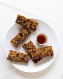 Chocolate Chunk Dunkers with a Salted Chile Caramel Dip via Bakers Royale 210x260