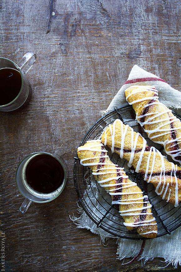 Raspberry Twists | A 4-ingredient, 20 minute dessert!