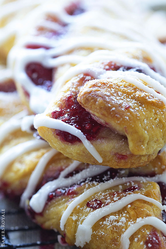Raspberry Twists from Bakers Royale