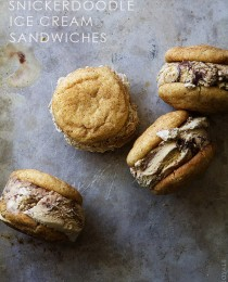 Snickerdoodle Ice Cream Sandwiches by Bakers Royale