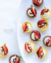 Strawberry Cheesecake Tartlet by Bakers Royale 210x260