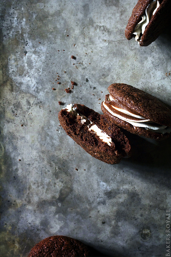Brownie Sandwich Cookies | Bakers Royale