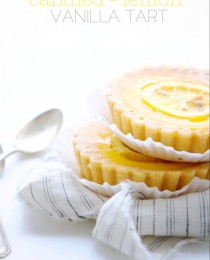 Candied Lemon Tart from Bakers Royale