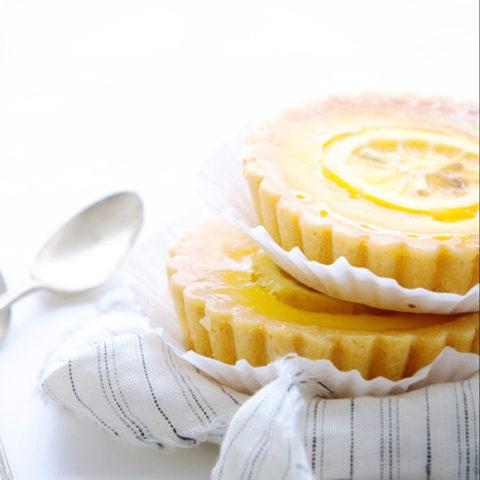 Candied-Lemon Vanilla Tart