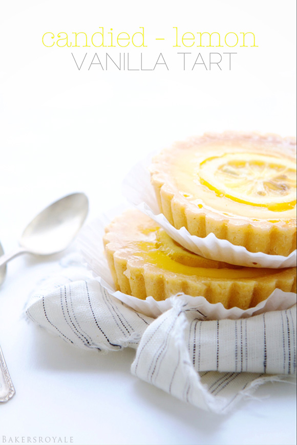 Candied Lemon Tarts