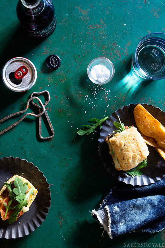 Epic Meatloaf Sliders via Bakers Royale