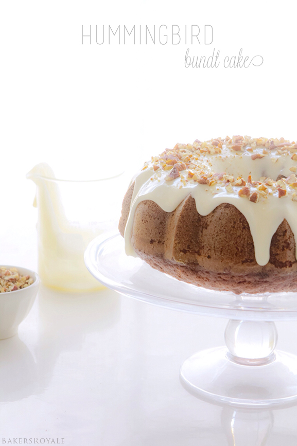 Hummingbird Bundt Cake | Bakers Royale