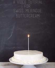 Swiss Meringue Buttercream Video Tutorial from Bakers Royale