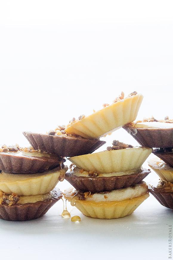 Peanut Butter & Honey Mini Pies