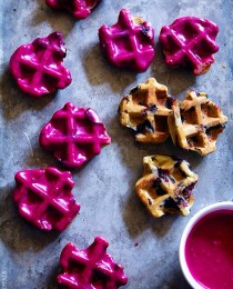 Blueberry Waffle Cookies from Bakers Royale
