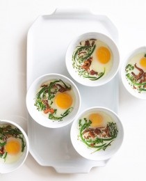 Eggs en Cocotte via Bakers Royale 210x260