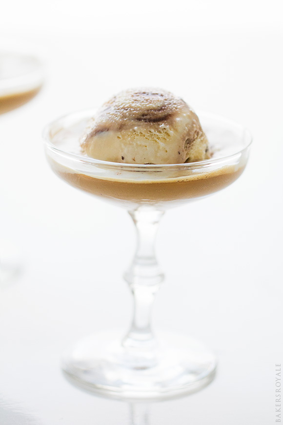Kahlúa Crunch Affogato by Bakers Royale