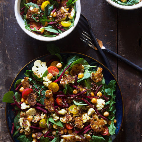 Power Salad with Jalapeno Dressing