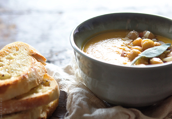 Roasted Carrot Soup by Bakers Royale