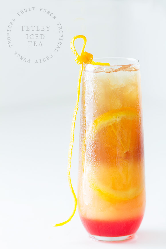 Tropical Fruit Punch Iced Tea via Bakers Royale
