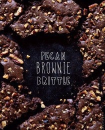 Brownie Brittle via Bakers Royale