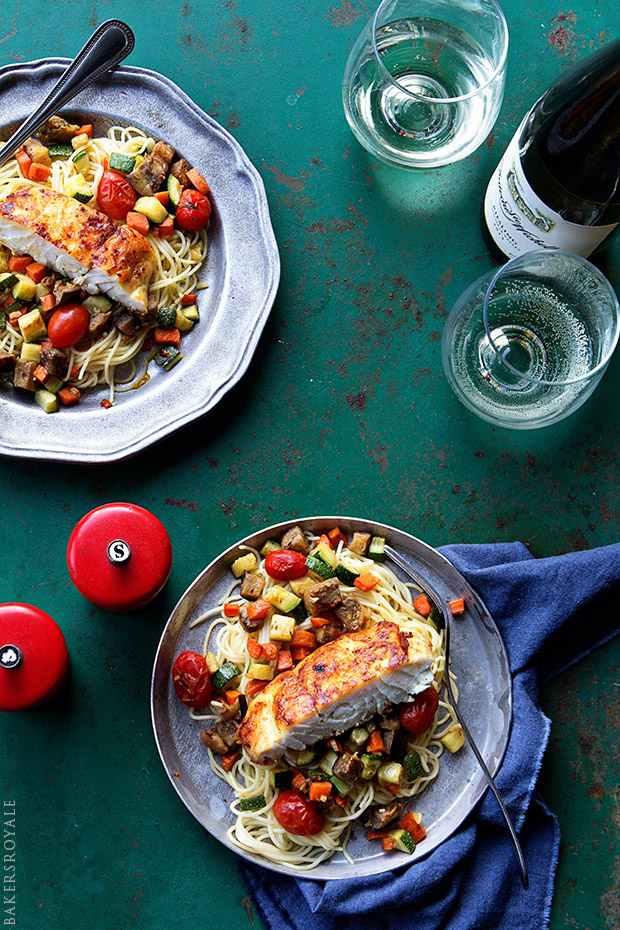 Halibut Ratatouille | Bakers Royale
