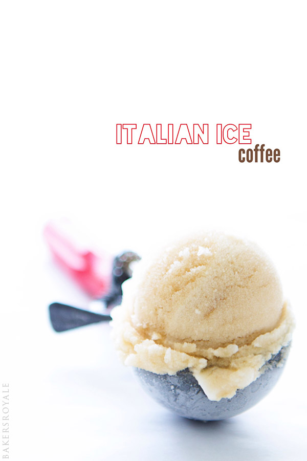 Italian Ice Coffee | Bakers Royale