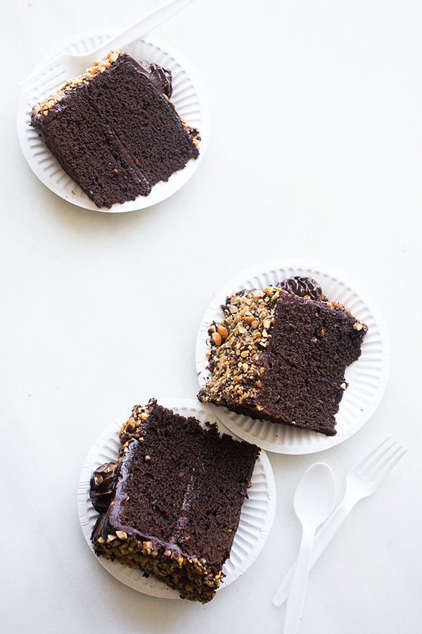Kahlua Crunch Cake by Bakers Royale