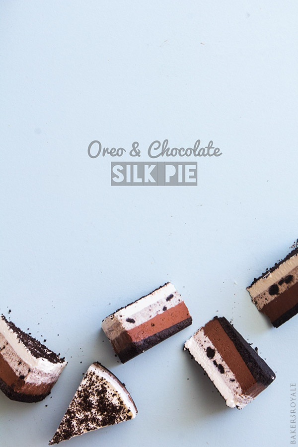Oreo and Chocolate Silk Pie by Bakers Royale