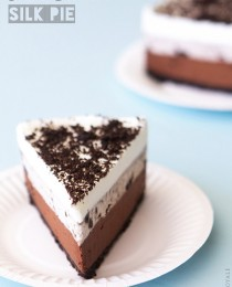 Oreo and Chocolate Silk Pie from Bakers Royale 210x260