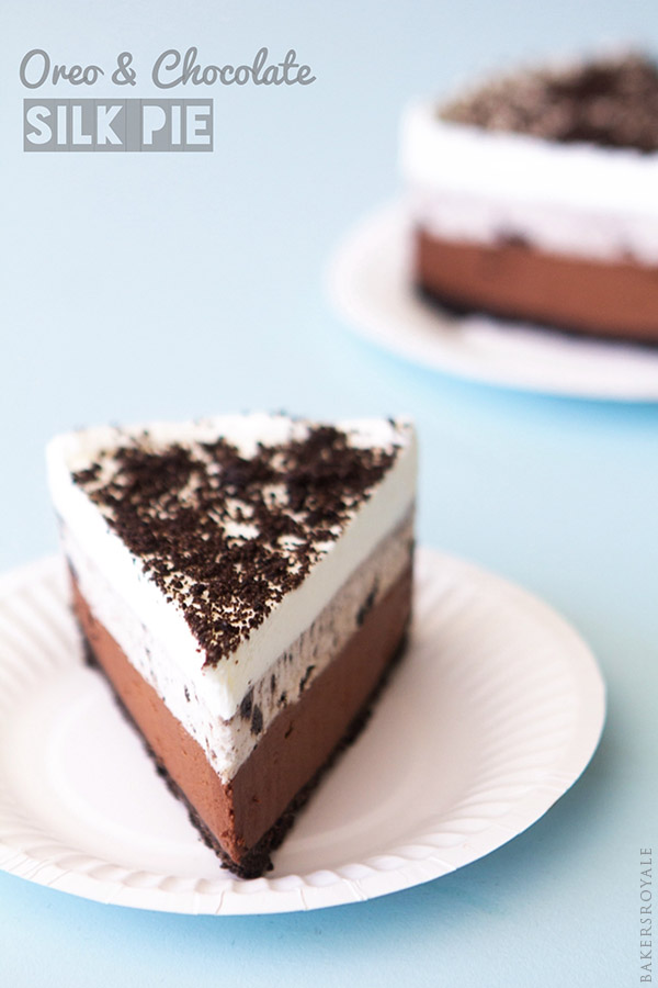 Oreo and Chocolate Silk Pie from Bakers Royale