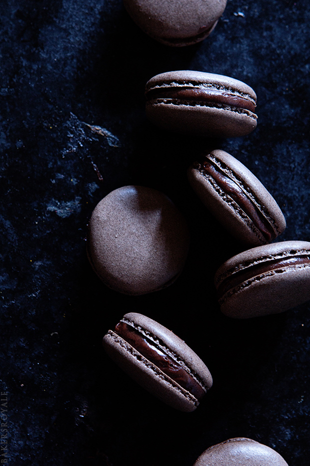Coffee Macarons from Bakers Royale