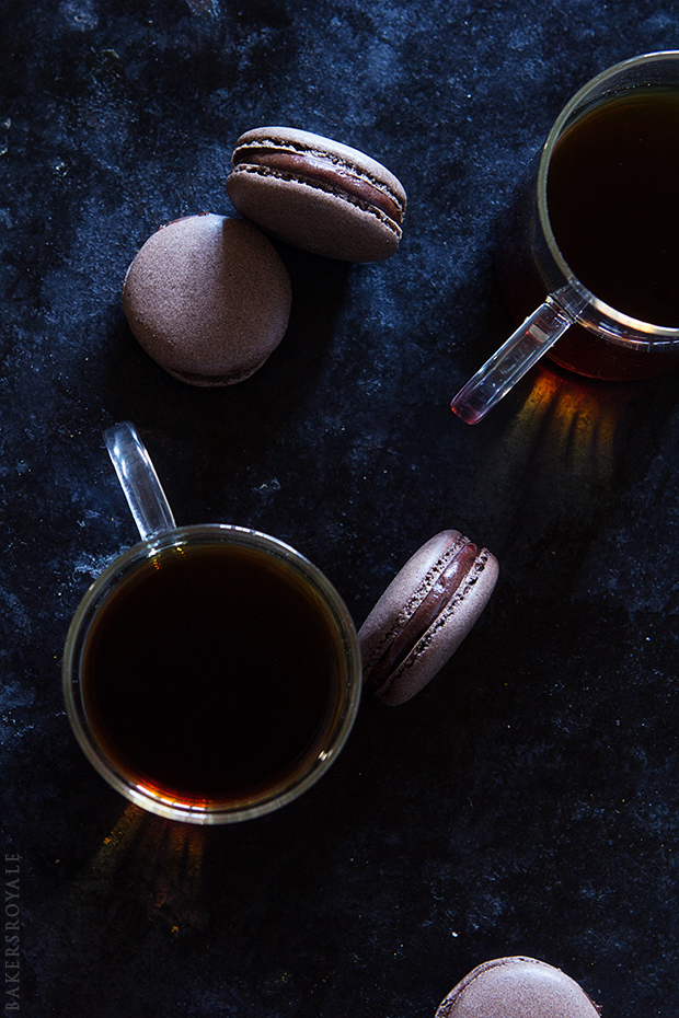 Coffee Macarons with Bakers Royale