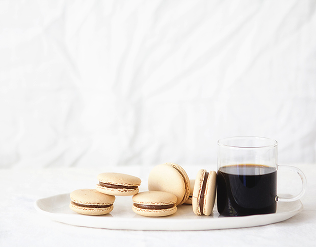 Spiced Pumpkin Macarons with Bakers Royale