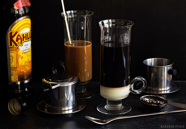 Boozy Vietnamese Iced Coffee Prep Bakers Royale