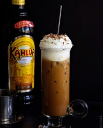 Boozy Vietnamese Iced Coffee via Bakers Royale 210x260