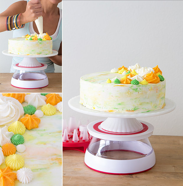 Cake Decorating with Chef'n Cakewalk
