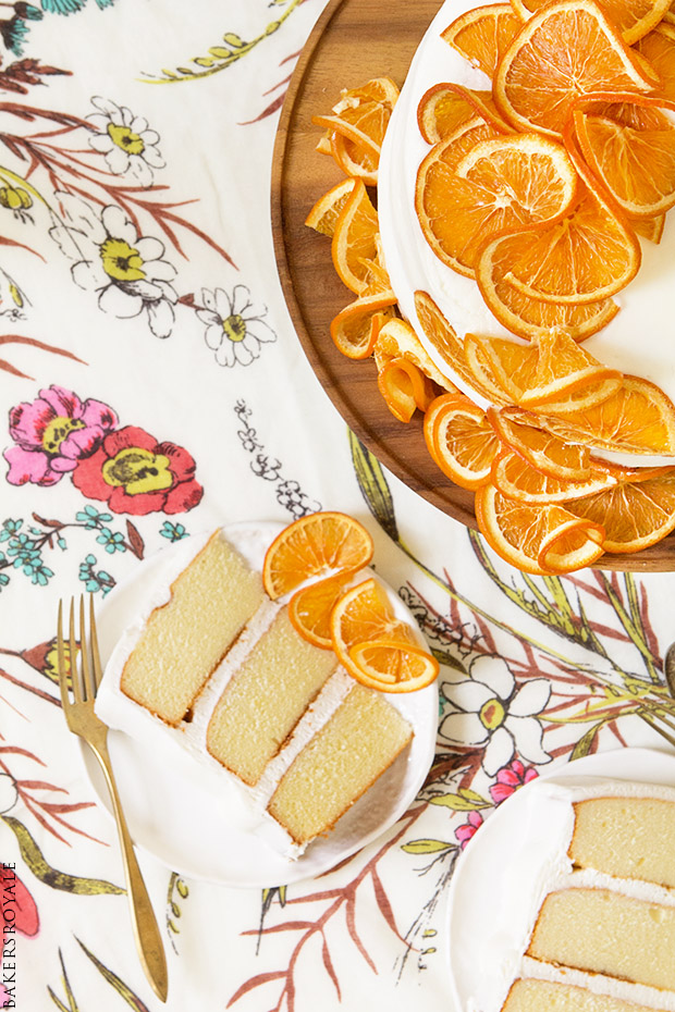 Honey Citrus Cake from Bakers Royale