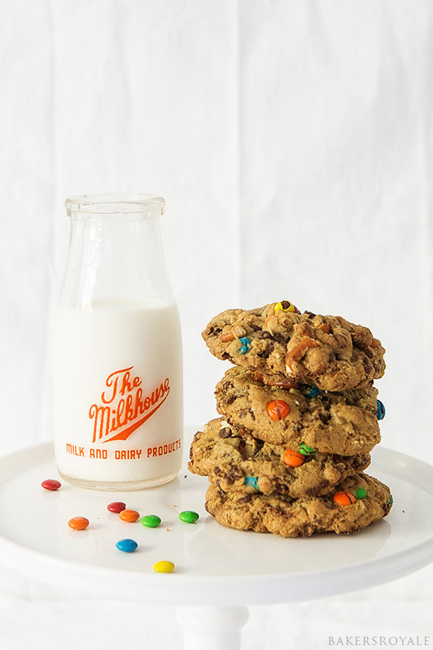 Monster Cookies with Bakers Royale
