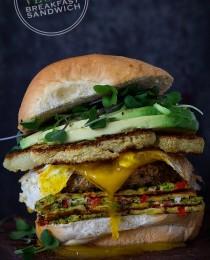 The Epic Veggie Sandwich via Bakers Royale 210x260