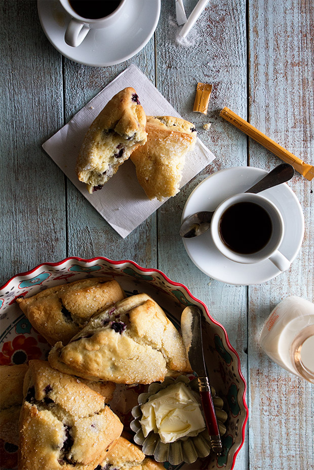 Blueberry Scones from Bakers Royale