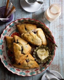 Blueberry Scones via Bakers Royale