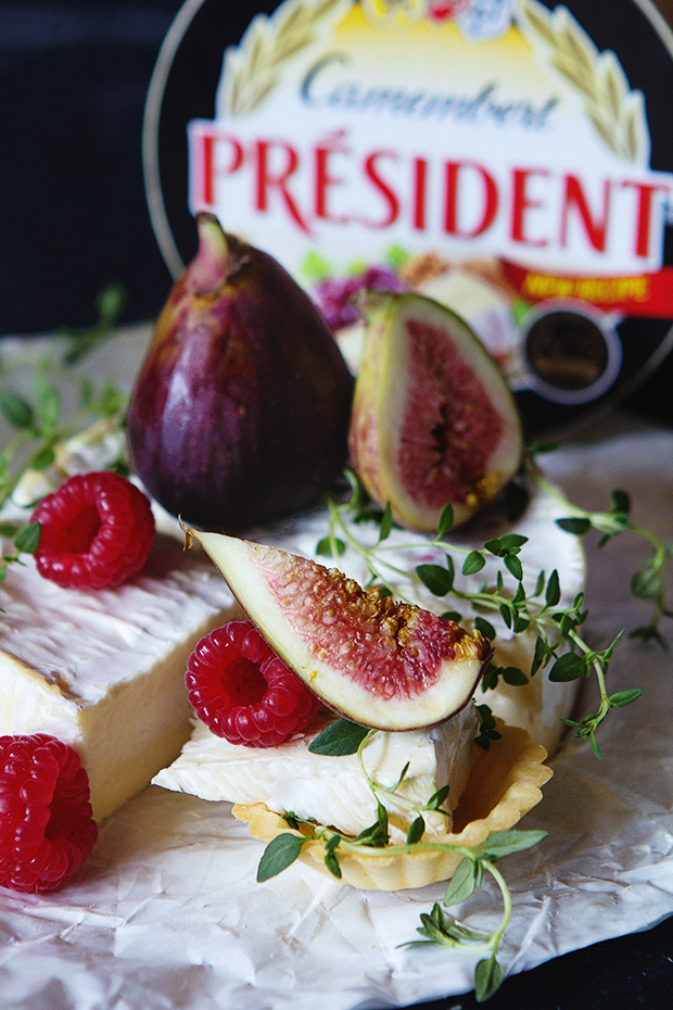 Camembert and Fig Tartlet with Bakers Royale