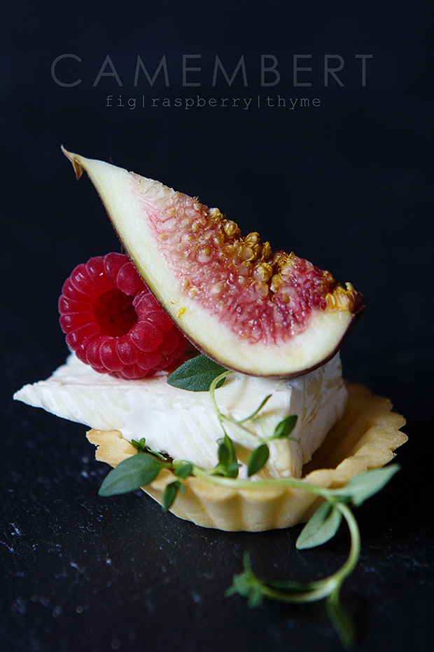 Camembert and Fig Tartletvia Bakers Royale