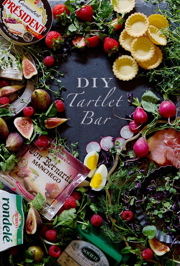Thanksgiving Appetizer: DIY Tartlet Bar