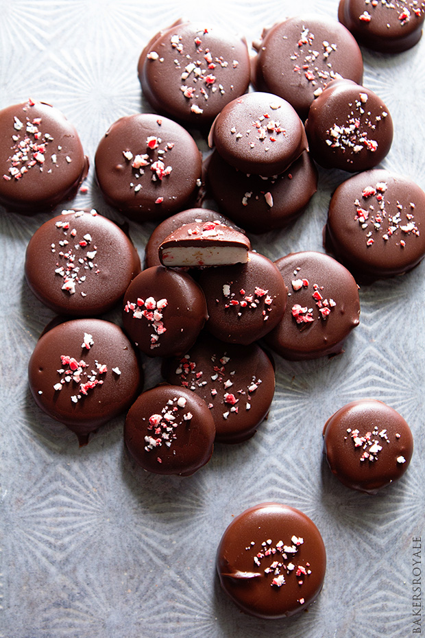 Homemade Peppermint Patties from Bakers Royale