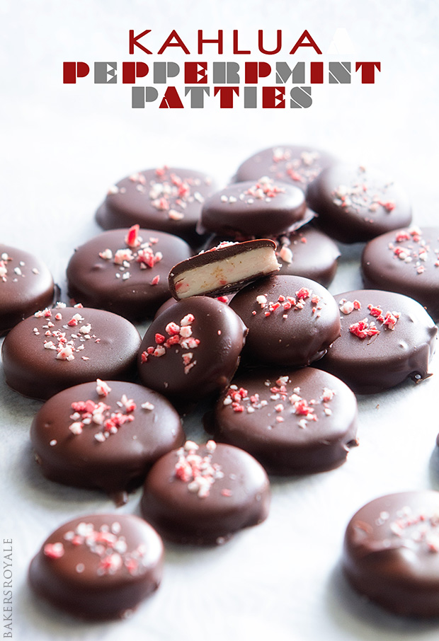 Homemade Peppermint Patties via Bakers Royale