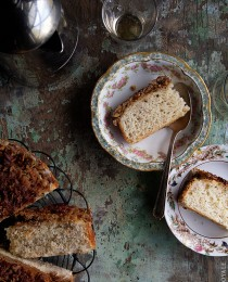 Make ahead Coffee Cake via Bakers Royale 210x260