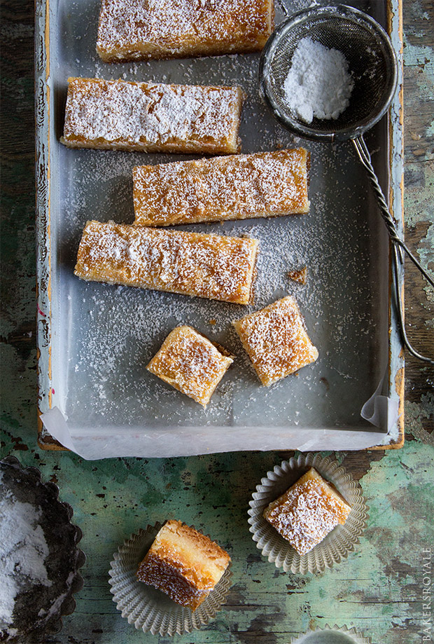 Maple Ooey-Gooey Butter Cake Bites