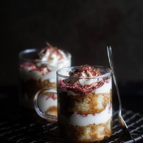 Peppermint Tiramisu Trifles