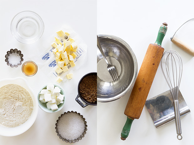 Pie Crust Tools and Ingredients via Bakers Royale