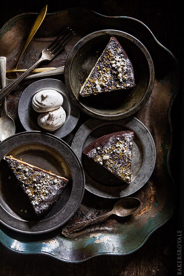 Chocolate Covered Kahlua Cheesecake