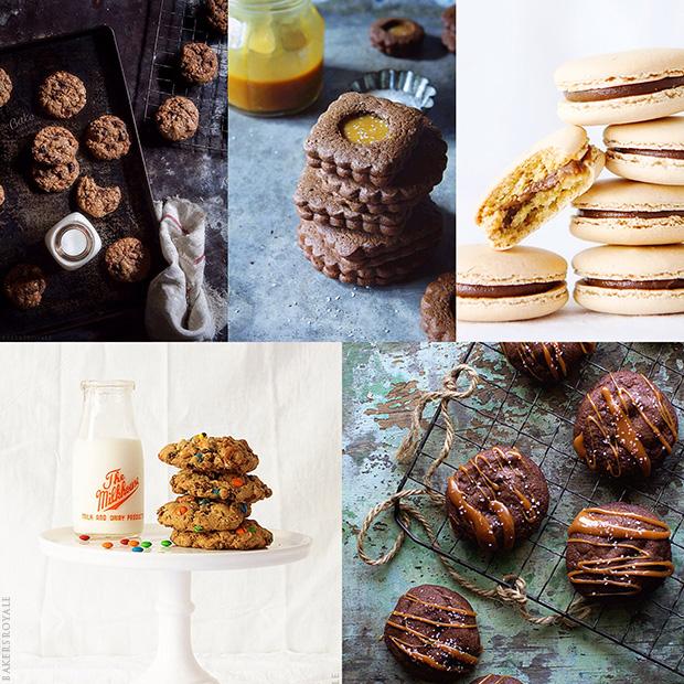 Holiday Cookie Week Collage via Bakers Royale